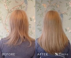 Hair extensions for thickness and a little length.