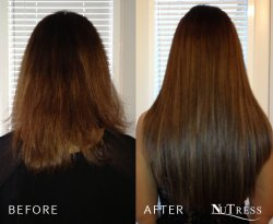 Hair extensions for length.