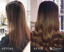 Hair extensions to add thickness.