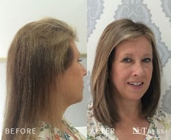 75 tailor made micro bond hair extensions.