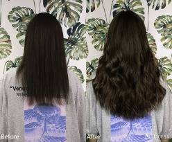 125 micro bond hair extensions added length and volume