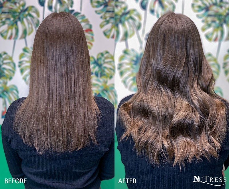 Virgin Russian micro ring hair extensions Manchester